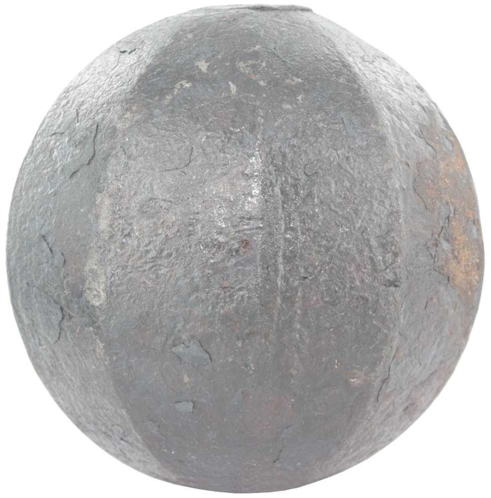 Massivkugel Ø 60 mm | abgehämmert | Stahl S235JR, roh