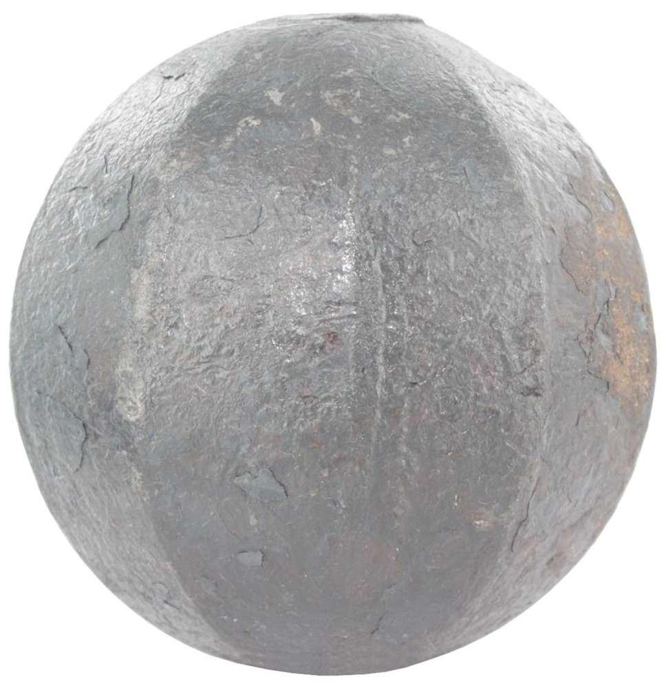 Massivkugel Ø 25 mm | abgehämmert | Stahl S235JR, roh