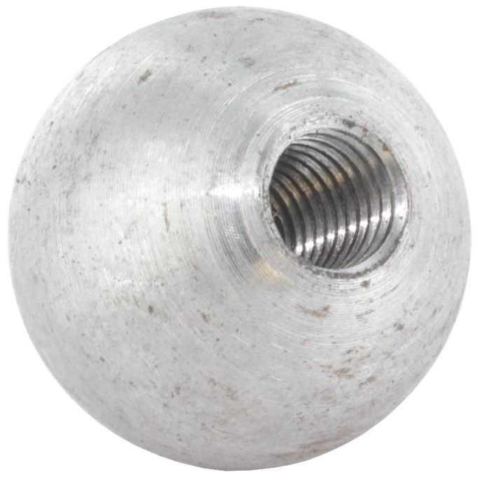 Kugel Ø 25 mm | massiv glatt | mit Gewinde M8