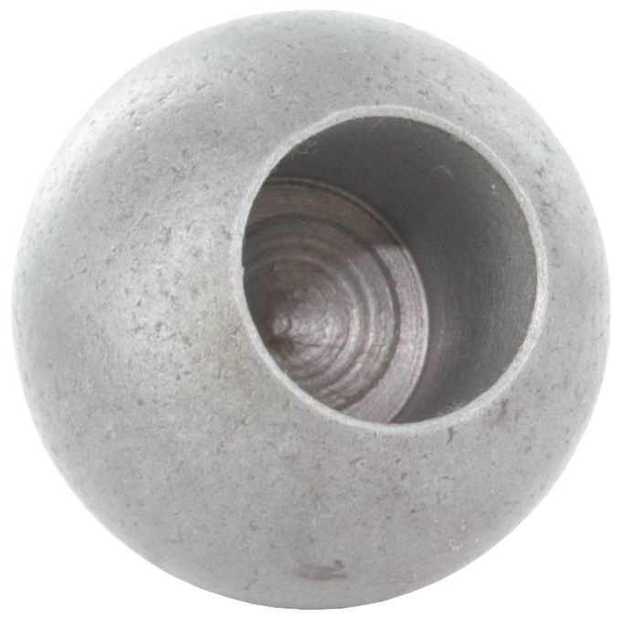 Kugel Ø 20 mm | mit Sackloch 12,2 mm | Stahl S235JR
