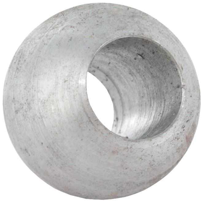 Kugel Ø 40 mm | mit Durchgangsbohrung 12,2 mm | Stahl S235JR