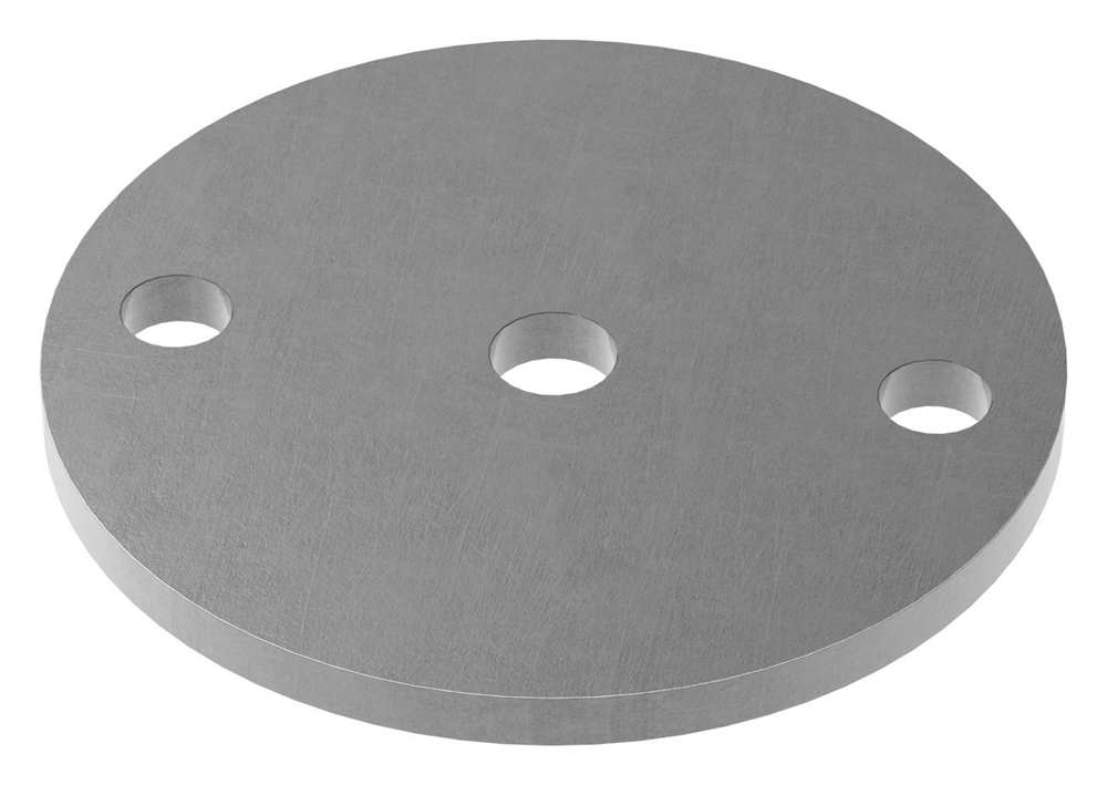 Ankerplatte   Maße: Ø 100x6 mm   Stahl (Roh) S235JR