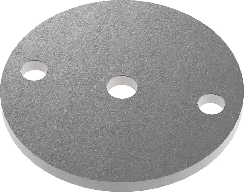 Ankerplatte   Maße: Ø 70x4 mm   Stahl (Roh) S235JR
