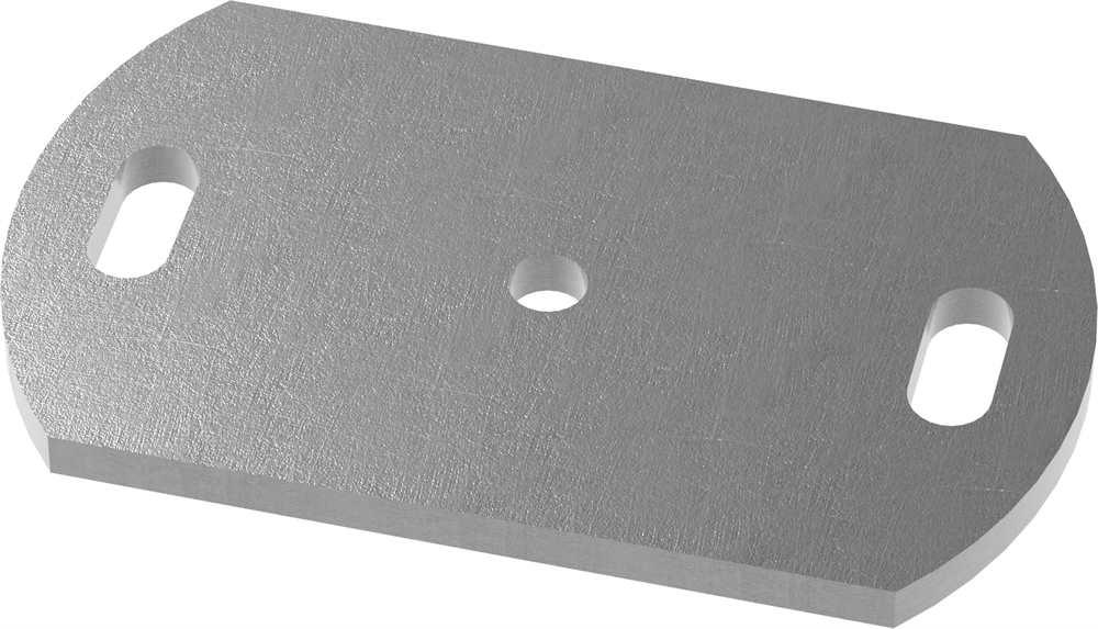 Ankerplatte   Maße: 170x120x10 mm   Stahl (Roh) S235JR