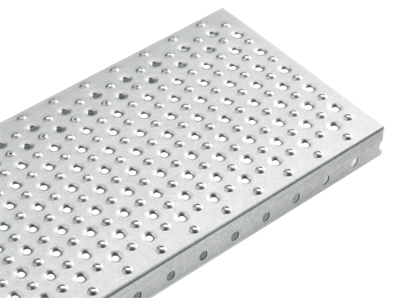 Blechprofilstufe | Typ X | Maße: 600-1200 x 240 mm | S235JR, im Vollbad feuerverzinkt