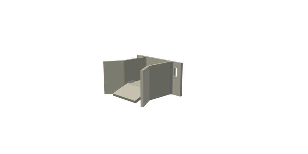 Torfangstück für freitragende Tore Größe 5