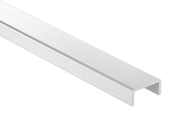 Kantenschutz | Maße: 26x12x2 mm | Länge: 6000 mm | Aluminium elox. E4/EV1