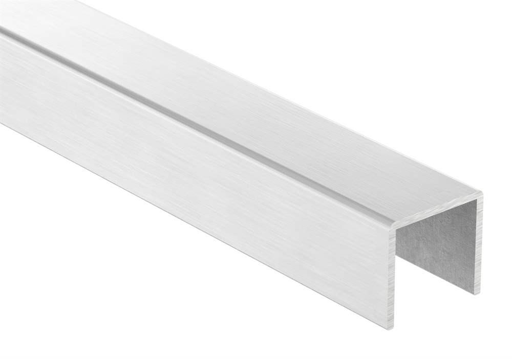 Kantenschutz | Maße: 28x26x2 mm | Länge: 3000 mm | V2A