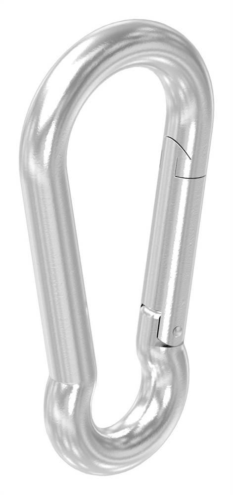 Karabinerhaken | Maße: 50x5 mm | V4A