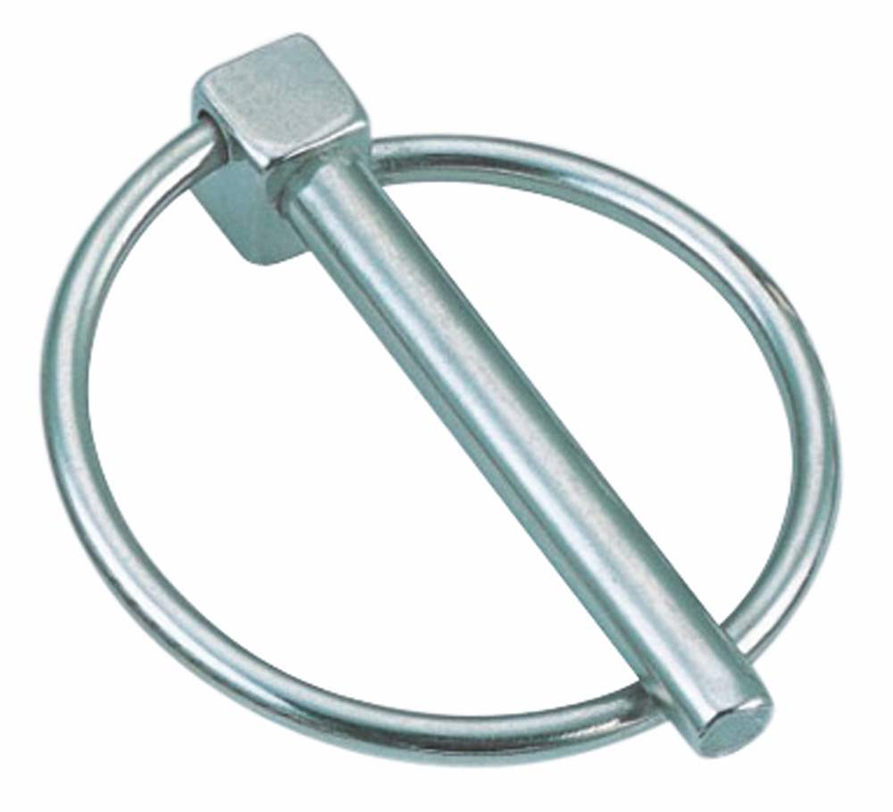 Klappsplint | mit Ring | Innendurchmesser: 39 mm - 43,4 mm | V4A