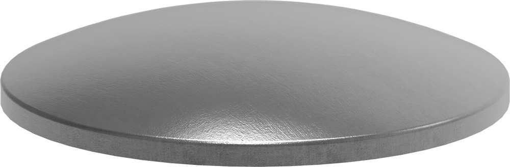 Klöpperböden | Rohrabschluss | Ø 21,9x1,5 mm | Stahl S235JR