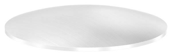 Klöpperboden | Ø 101x2,5 mm | gewölbt | einseitig geschliffen | V2A