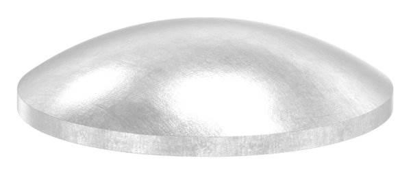 Klöpperboden | Ø 26,9 mm | gewölbt | ungeschliffen | V2A