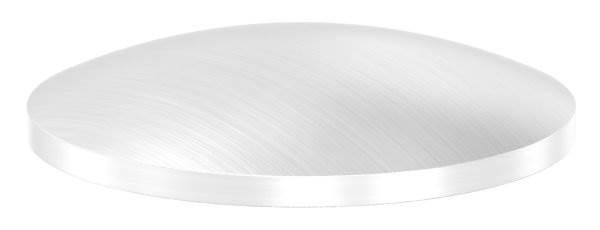 Klöpperboden | Ø 33,7x2,0 mm | gewölbt | einseitig geschliffen | V2A