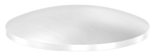 Klöpperboden | Ø 42,4x2,0 mm | gewölbt | einseitig geschliffen | V2A