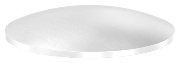 Klöpperboden | Ø 52x2,0 mm | gewölbt | einseitig geschliffen | V2A