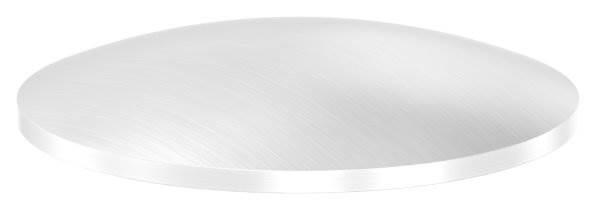Klöpperboden | Ø 60,3x2,5 mm | gewölbt | einseitig geschliffen | V2A