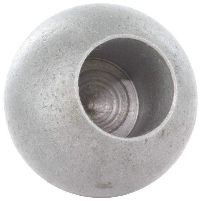 Kugel Ø 25 mm | mit Sackloch 10,2 mm | Stahl S235JR, roh