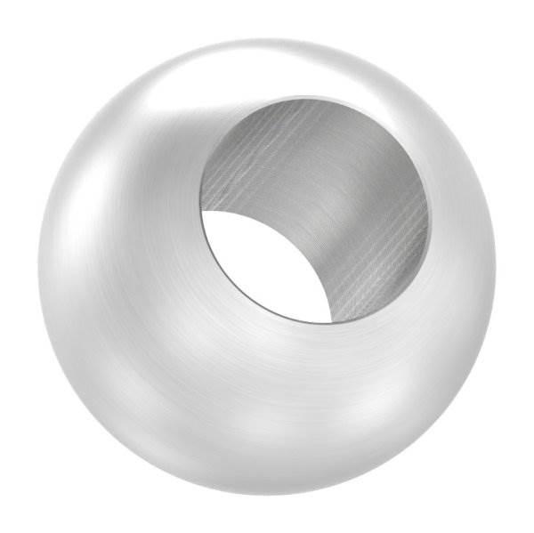 Kugel Ø 20 mm mit Durchgangsbohrung 10,2 mm V2A