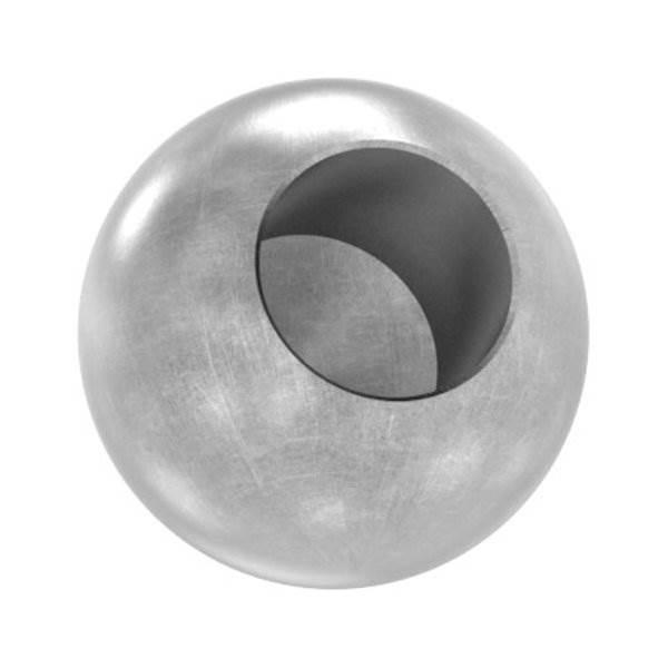 Kugel Ø 20 mm | mit Sackloch 10,2 mm | Stahl S235JR, roh