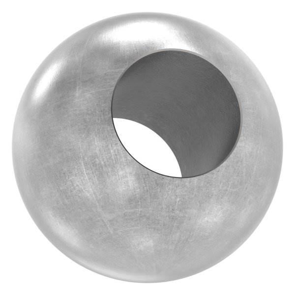 Kugel Ø 25 mm | mit Durchgangsbohrung 12,2 mm | Stahl S235JR, roh