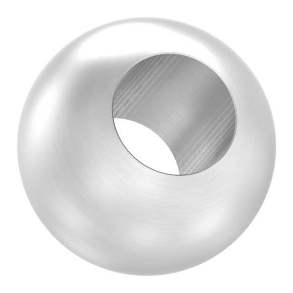 Kugel Ø 25 mm mit Durchgangsbohrung 12,2 mm V2A