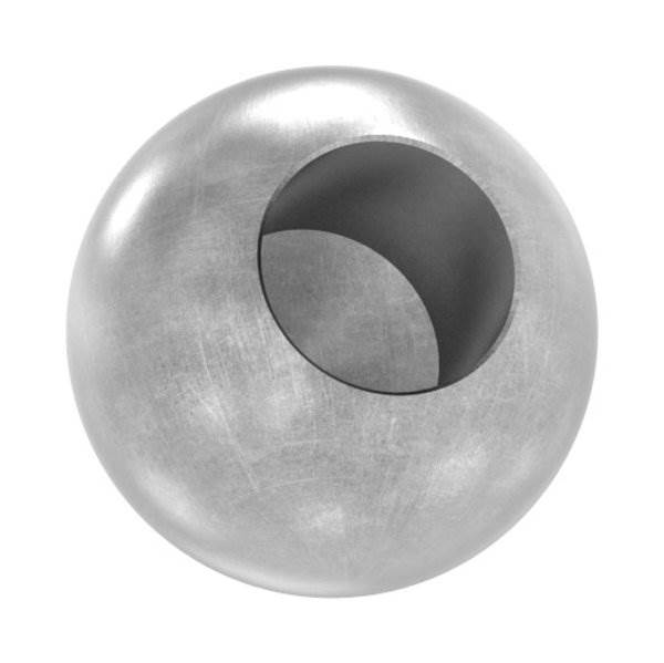 Kugel Ø 25 mm | mit Sackloch 12,2 mm | Stahl S235JR, roh