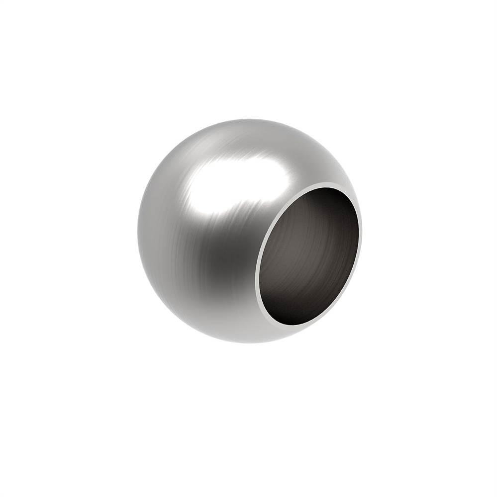 Kugel Ø 25 mm mit Sackloch 12,2 mm V2A Vollmaterial