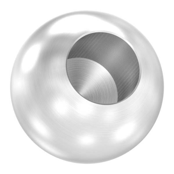 Kugel Ø 25 mm mit Sackloch 12,2 mm V4A Vollmaterial