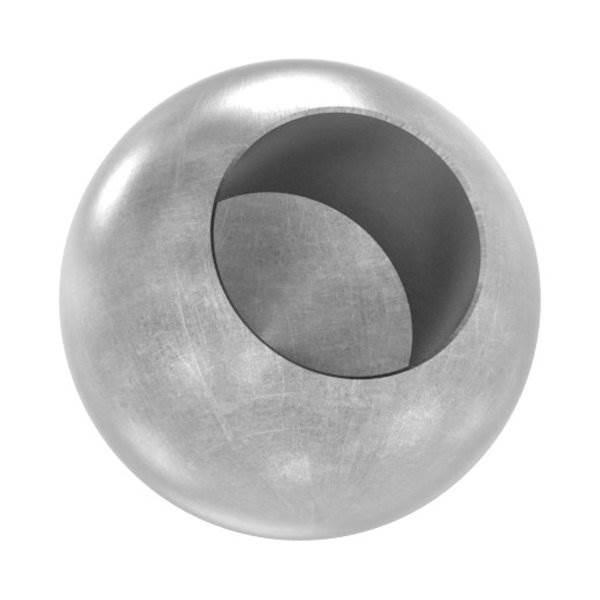 Kugel Ø 25 mm | mit Sackloch 14,2 mm | Stahl S235JR, roh