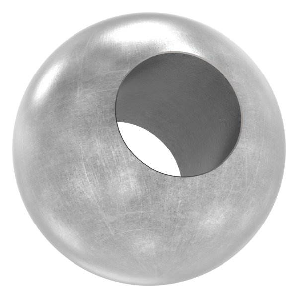 Kugel Ø 30 mm | mit Durchgangsbohrung 14,2 mm | Stahl S235JR, roh