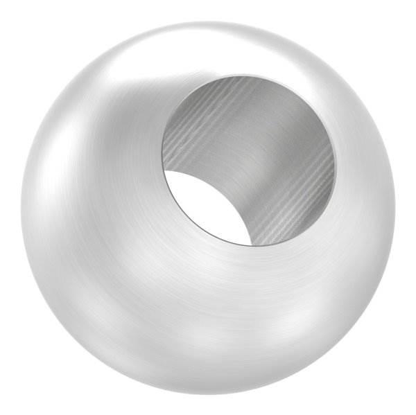 Kugel Ø 30 mm mit Durchgangsbohrung 14,2 mm V2A