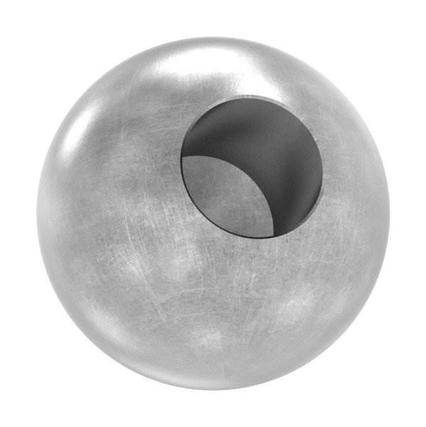 Kugel Ø 30 mm | mit Sackloch 12,2 mm | Stahl S235JR, roh