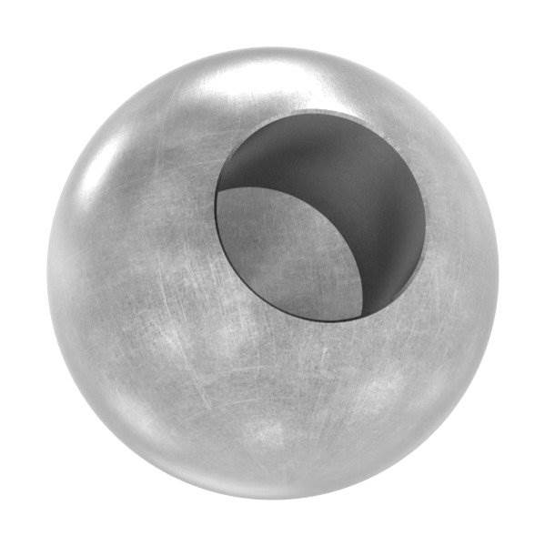 Kugel Ø 30 mm | mit Sackloch 14,2 mm | Stahl S235JR, roh