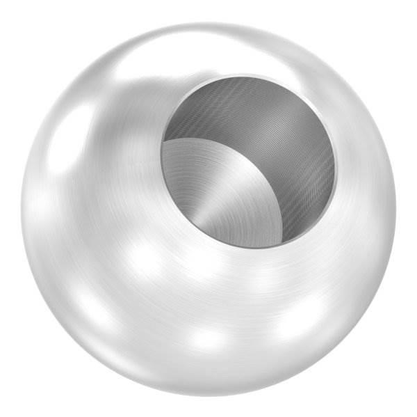 Kugel Ø 30 mm mit Sackloch 14,2 mm V2A Vollmaterial