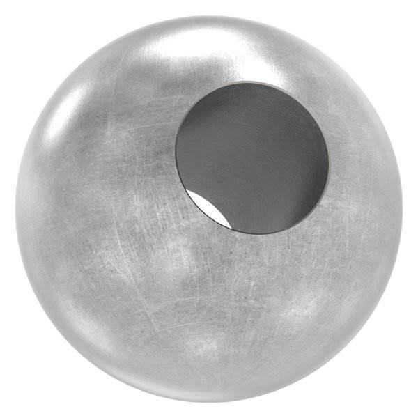 Kugel Ø 35 mm   mit Durchgangsbohrung 14,2 mm   Stahl S235JR, roh