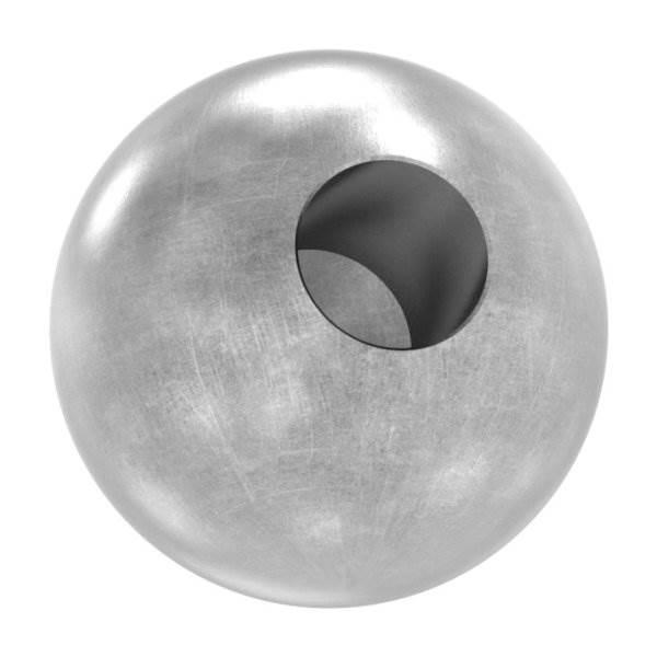 Kugel Ø 35 mm | mit Sackloch 12,2 mm | Stahl S235JR, roh