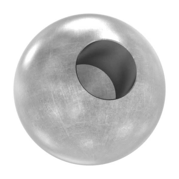 Kugel Ø 35 mm | mit Sackloch 14,2 mm | Stahl S235JR, roh