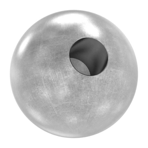 Kugel Ø 40 mm | mit Sackloch 12,3 mm | Stahl S235JR, roh
