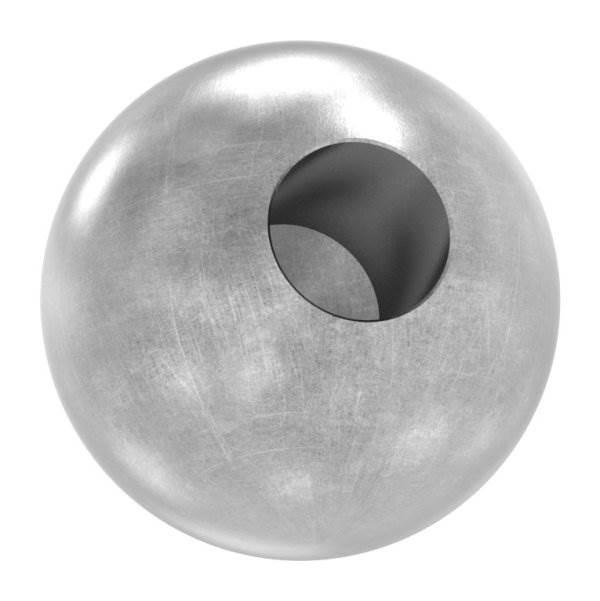 Kugel Ø 40 mm | mit Sackloch 14,2 mm | Stahl S235JR, roh