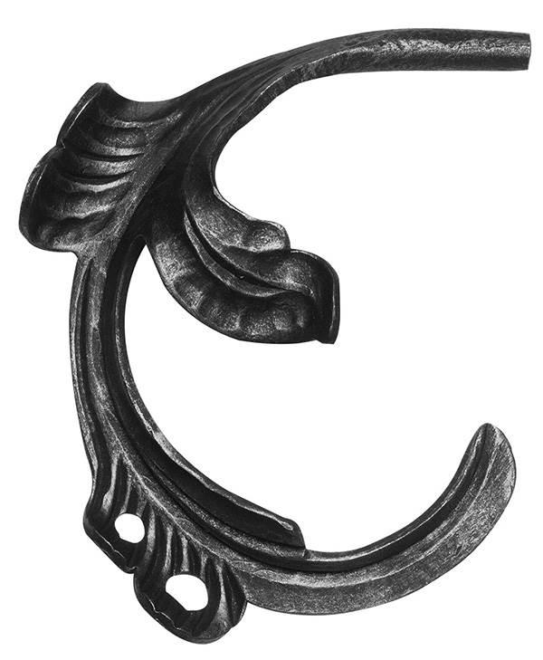 Ländliches Barock | Maße: 170x160 mm | Stahl S235JR, roh