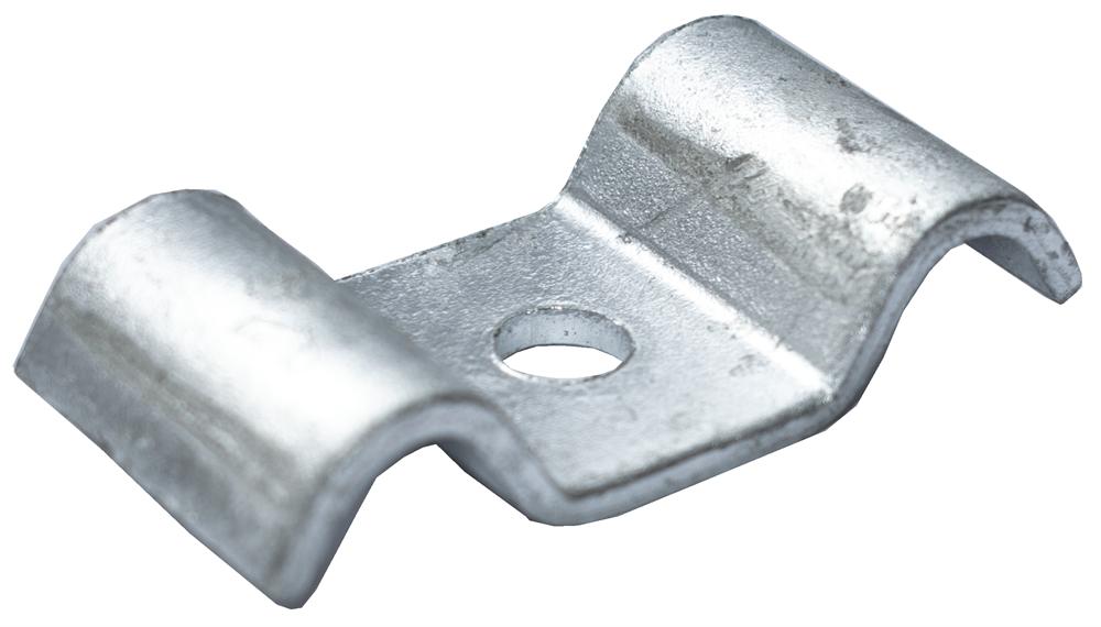 Schwalbenlasche für MW 40/40 mm   aus St37, feuerverzinkt