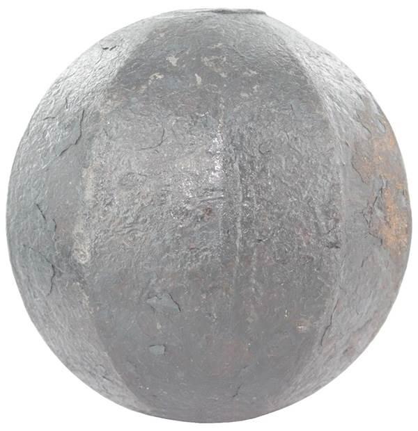 Massivkugel Ø 30 mm | abgehämmert | Stahl S235JR, roh
