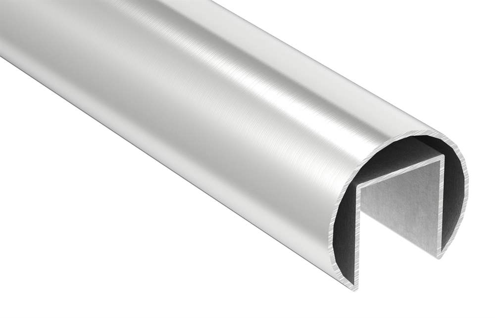 Nutrohr | Ø 48,3x1,5 mm | mit Nut: 27x30 mm | Länge: 3000 mm | V4A