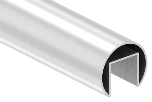 Nutrohr | Ø 42,4x1,5 mm | mit Nut: 24x24 mm | Länge: 3000 mm | V2A