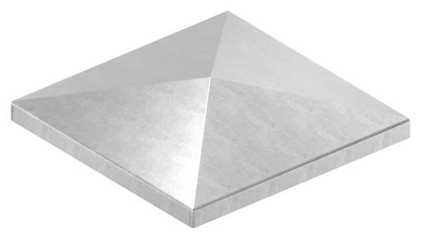 Pfeilerbedecker | für Quadratrohr | Maße: 120x120 mm | Stahl S235JR, roh