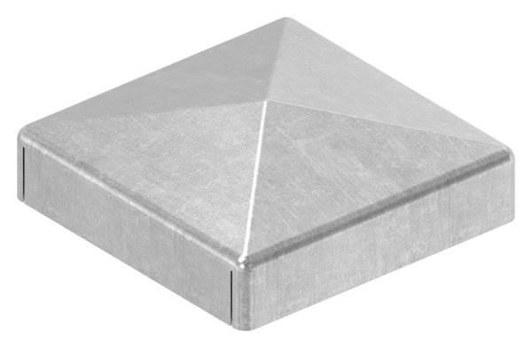 Pfeilerbedecker | für Quadratrohr | Maße: 30x30 mm | Stahl S235JR, roh