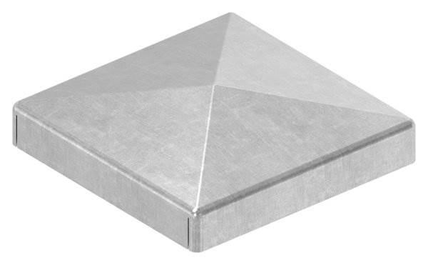 Pfeilerbedecker | für Quadratrohr | Maße: 40x40 mm | Stahl S235JR, roh