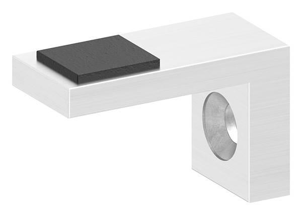 Plattenhalter | Halteplatte | Scheibensicherung für Glas