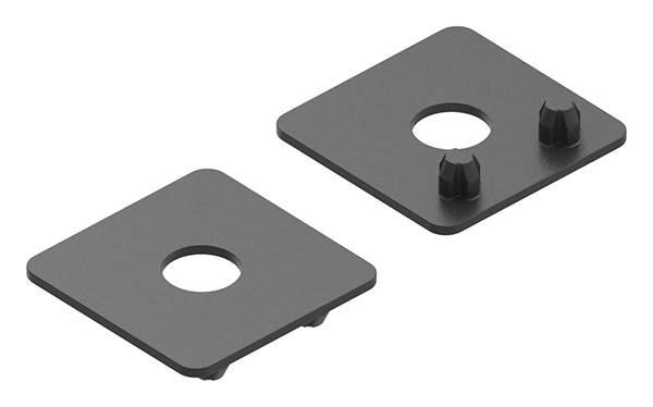 1 Paar Plastikplättchen für Blechhalter Ø 25 mm
